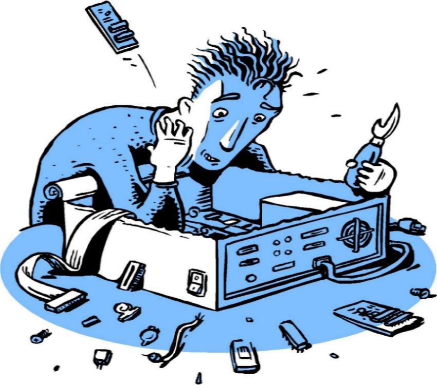 lỗi máy in bill