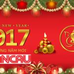 Lời cảm ơn chúc tết của công ty toàn cầu 2017
